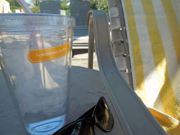 Clingks drink markers chillin in the shade
