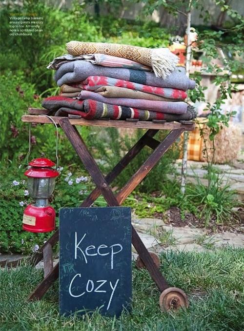 Backyard Blankets