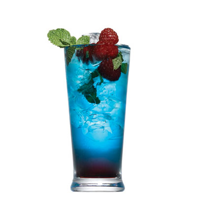 Blue Berry Mojito Cocktail Recipe