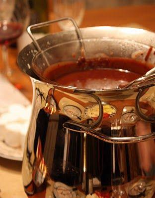 Kahula Chocolate Fondue
