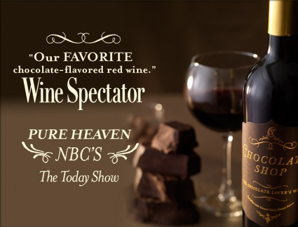 Chocolate Shop Wine Site