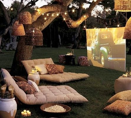 Outdoor Theater Seating