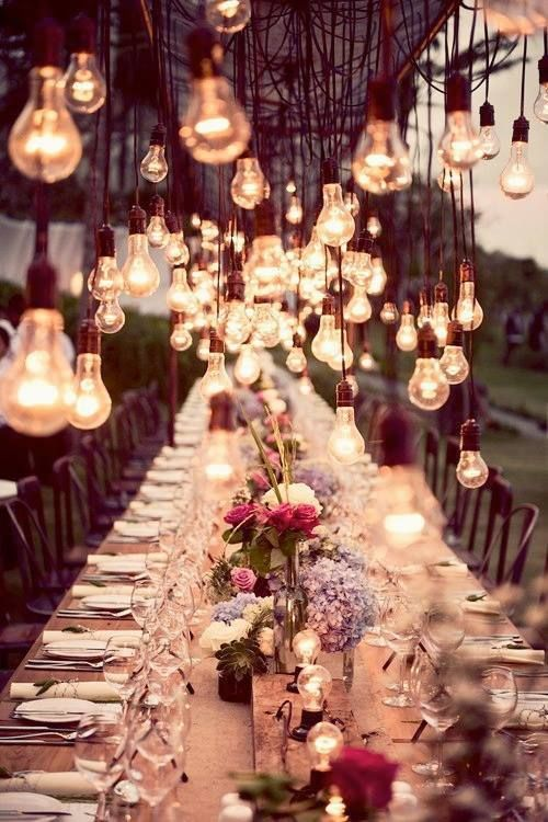 Table Lighting Idea