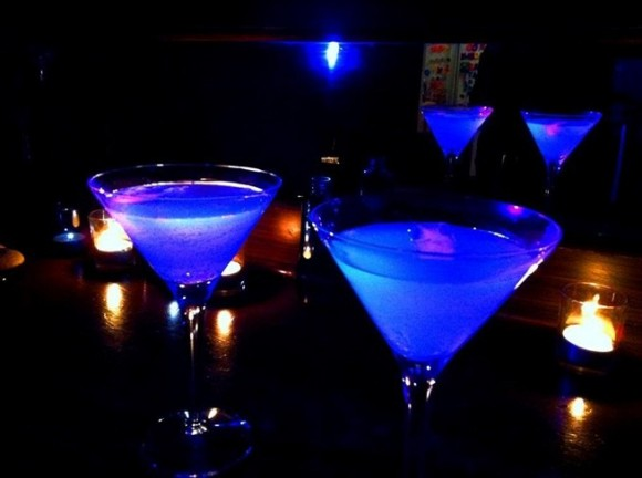 Neon Blue Cocktail