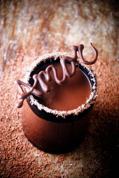 Chocolate Amor Garnish