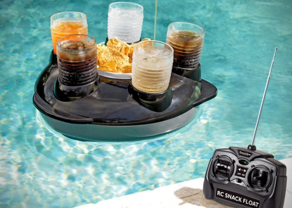 Floating Drink and Snack Holder - Remote Controlled