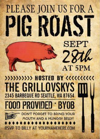 Swine Amp Dine A Pig Roast Bbq