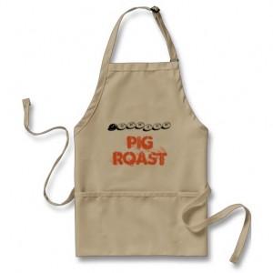 Pig Roast Apron