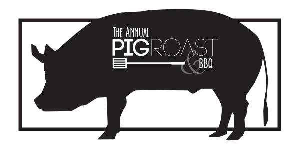 pig roast banner