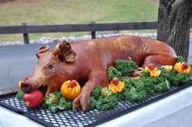 Pig Roast Completed