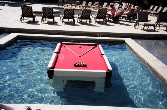Floating Billiards Table. Pooltable