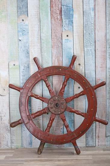 Captain's Wheel Decor