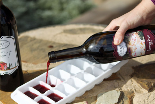 Freeze Leftover Wine
