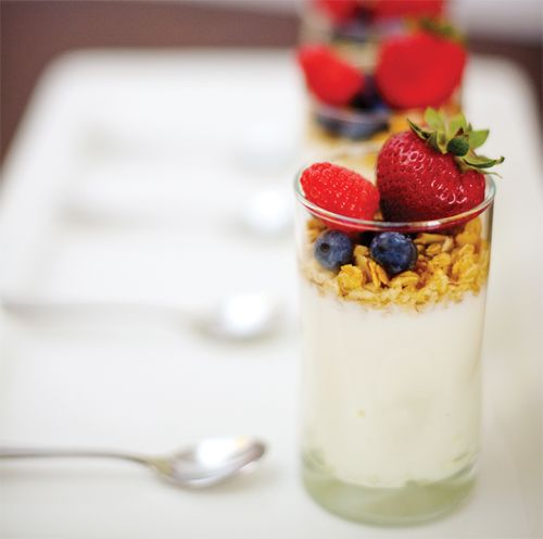 Mini Fruit Parfaits