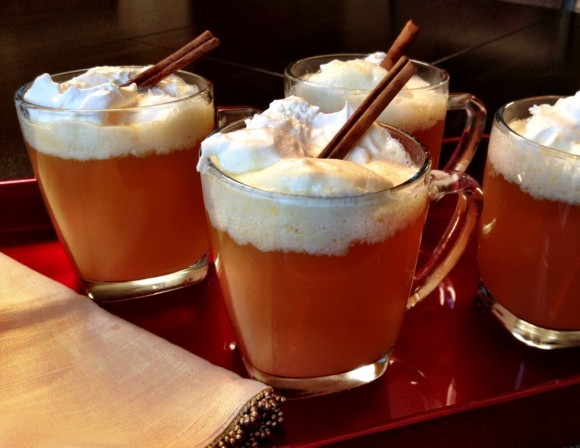 Caramel Apple Hot Toddy