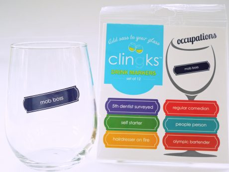 Clingks Drink Markers - Occupations