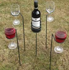 Outdoor Wine Holders
