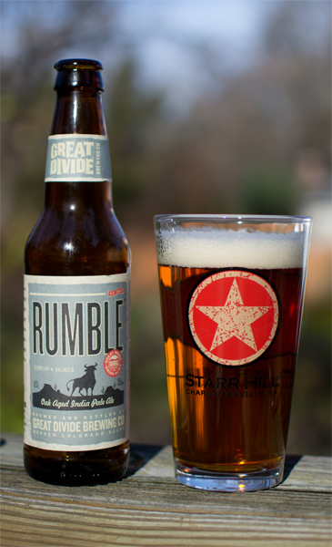 great divide's rumple ipa