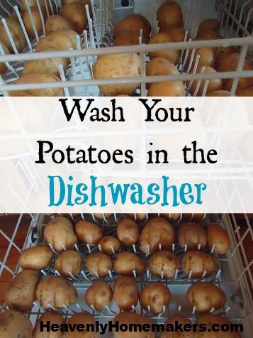 Wash-Potatoes-in-the-Dishwasher hack