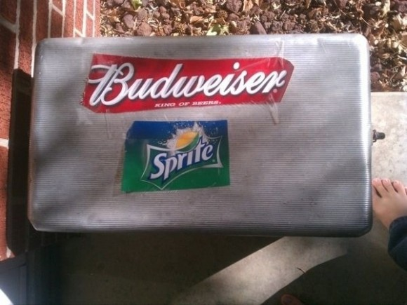 cooler labels hack
