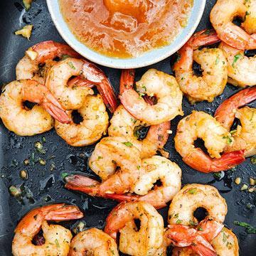 curried shrimp cocktail
