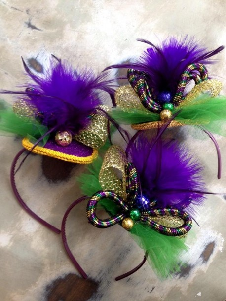 mardi gras headbands