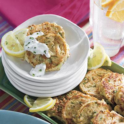 mardi gras mini crab cakes