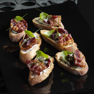 oscar godfather crostini