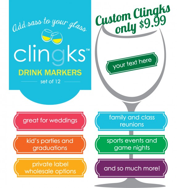 Custom Clingks signage copy