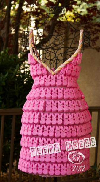 peep dress