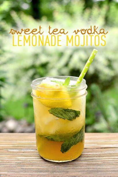 sweet tea vodka lemonade mojito