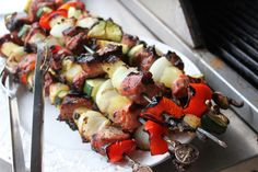 pineapple pork kabob