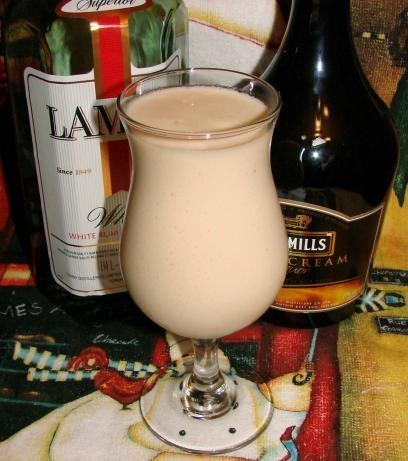 banana bailey colada slushy