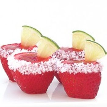 strawberry margarita shots