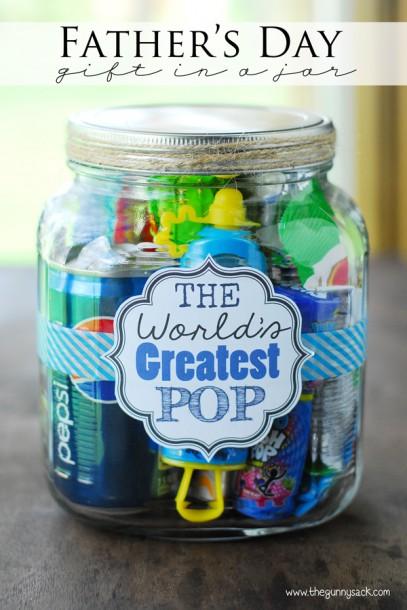 worlds greatest pop mason jar