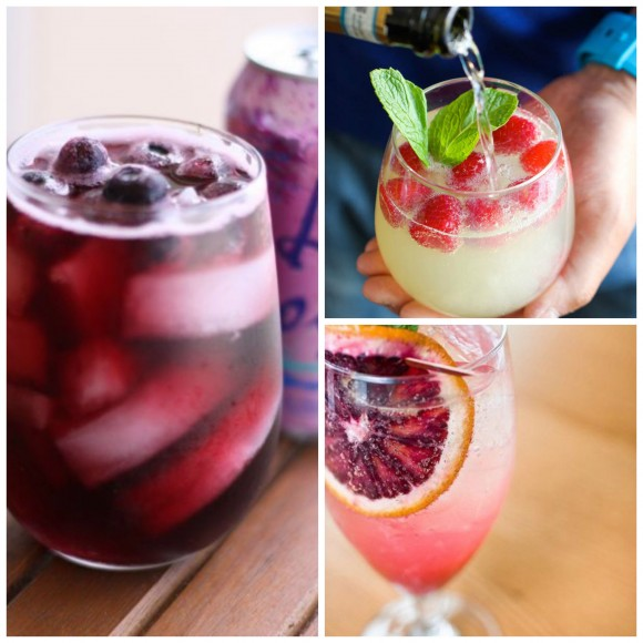 WIne Spritzers Collage