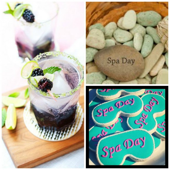 spa day Collage
