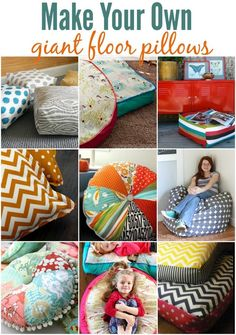 diy giant floor pillow