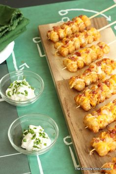 loaded tator tot kabob
