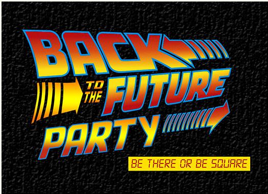back to the future invitation 1