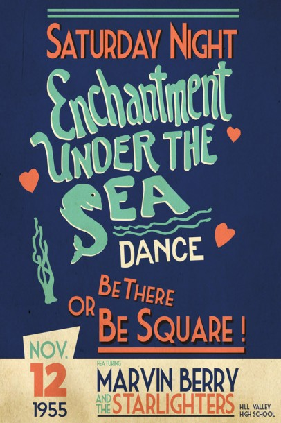enchanted under the sea dance poster