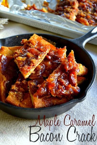 maple carmel bacon crack