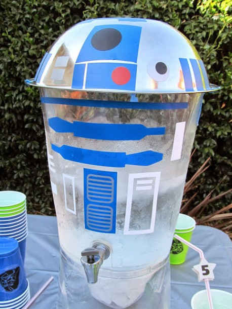 r2 d2 drink dispenser