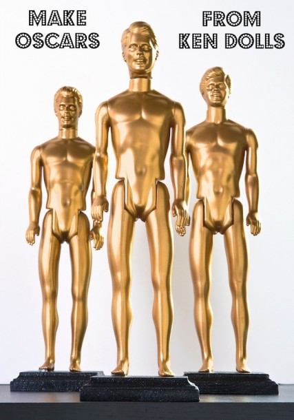 Make-DIY-Oscars-from-Ken-dolls