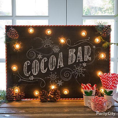 cocoa bar sign