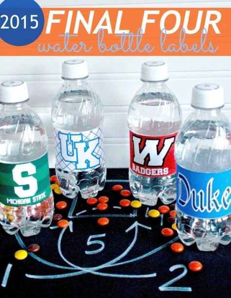 final four bottle lables