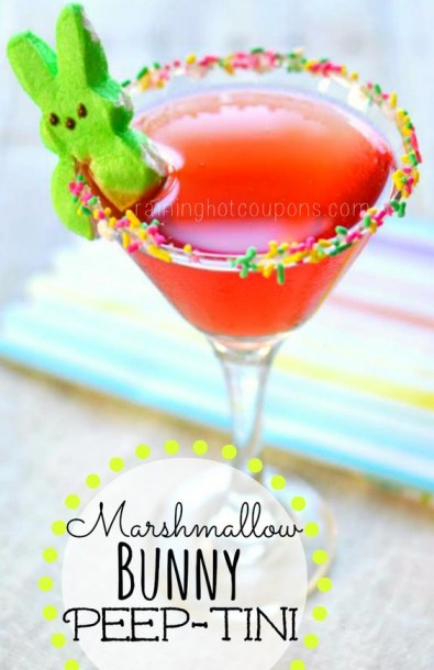 marshmellow peeptini