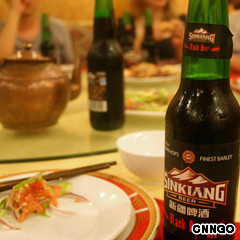sinkiang black beer - china