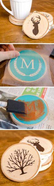 stencil coasters