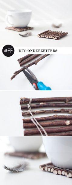 stick coasters